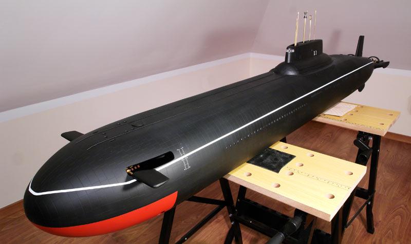 Typhoon 1 100 Rc Submarine Shipyard Model Submarines Parts And Knowledge Base